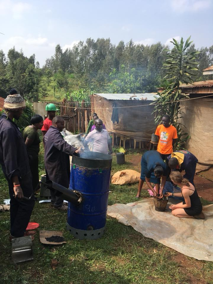sustainability grant waste fuel briquettes innovation energy refugee camps african africa cameroon kenya mcgill canada toronto montreal young entrepreneurs pilot project