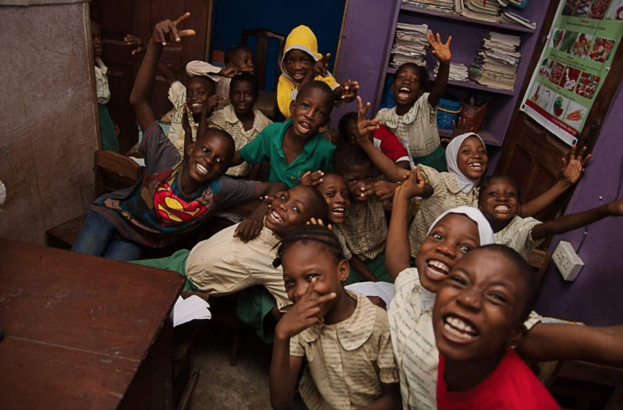 nigeria lagos technology computers programming coding children learning education technological literacy project developing country
